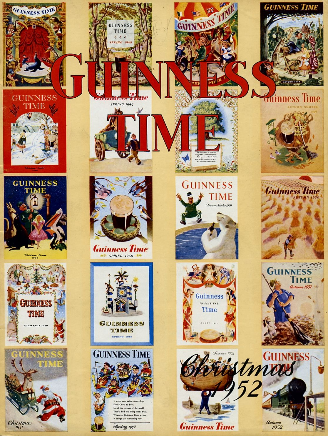 Guinness Time Christmas 1952