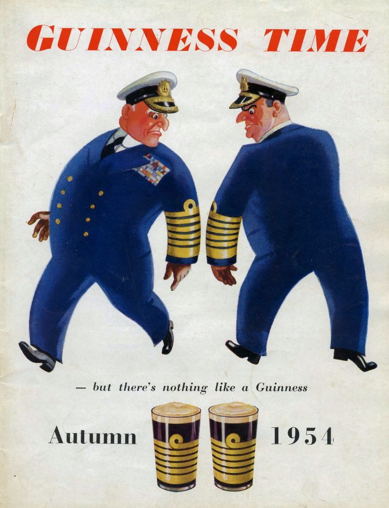 Guinness Time Autumn 1954